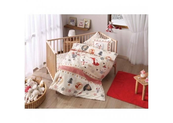 Постельное белье для младенцев Tac Disney - Snow kirmizi красный  1