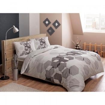 Подростковое постельное белье Tac Ranforce Teen - Arrow gri v01 серый