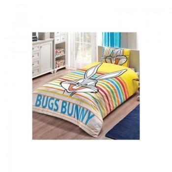 Подростковое постельное белье Tac Disney - Bugs Bunny Striped