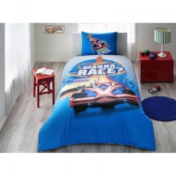 Подростковое постельное белье Tac Disney - Hot Wheels Race