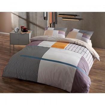 Подростковое постельное белье Tac Ranforce Teen - Berkley gri v01 серый
