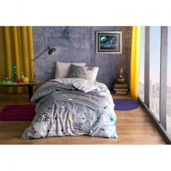 Подростковое постельное белье Tac Ranforce Teen - Connect серый