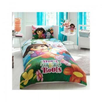 Подростковое постельное белье Tac Disney - Dora & Boots