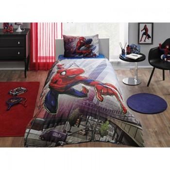 Подростковое постельное белье Tac Disney - Spiderman Action