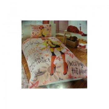 Подростковое постельное белье Tac Disney - Winx Holiday Stella