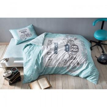 Подростковое постельное белье Tac Ranforce Teen - Route синий