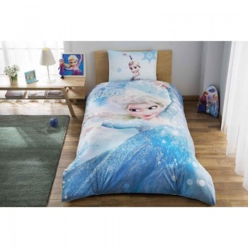 Подростковое постельное белье Tac Disney - Frozen Glitter