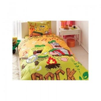 Подростковое постельное белье Tac Disney - Sponge Bob Summer Camp