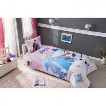 Подростковое постельное белье Tac Disney - Frozen Pink