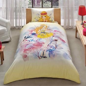 Подростковое постельное белье Tac Disney - Winx Stella Water Colour