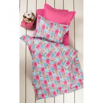 Подростковое постельное белье Lotus Premium B&G - Sweetie розовый