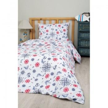 Подростковое постельное белье Lotus Young - Anchor синий