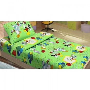 Подростковое постельное белье Lotus Young - Donald Duck V2 зеленый