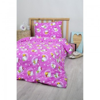 Подростковое постельное белье Lotus Young - Hello Kitty Star V1 розовый