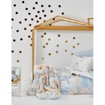 Постельное белье для младенцев Karaca Home - Honey Bunny 2017-1 голубой