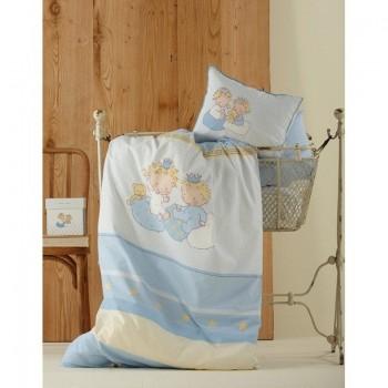 Постельное белье для младенцев Karaca Home - Mini голубое