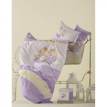 Постельное белье для младенцев Karaca Home - Mini лиловое