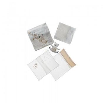 Постельное белье для младенцев с игрушкой Karaca Home - Koala (5 предметов)