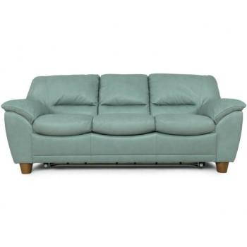 Прямой трехместный диван Турин (кожа)
