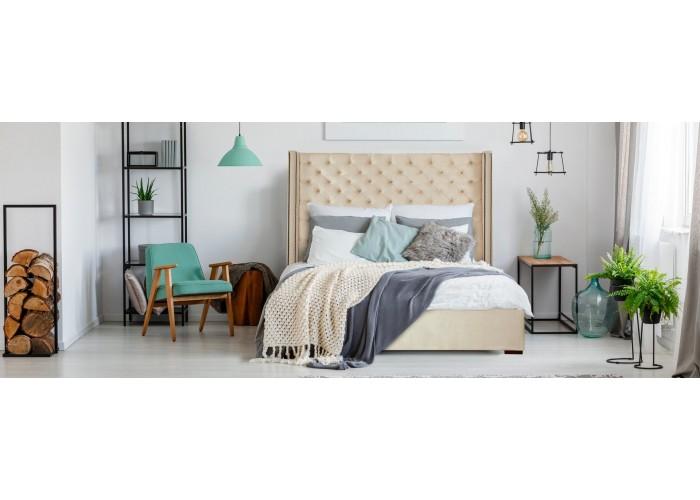 Кровать Рафаэлла (кожа)  3