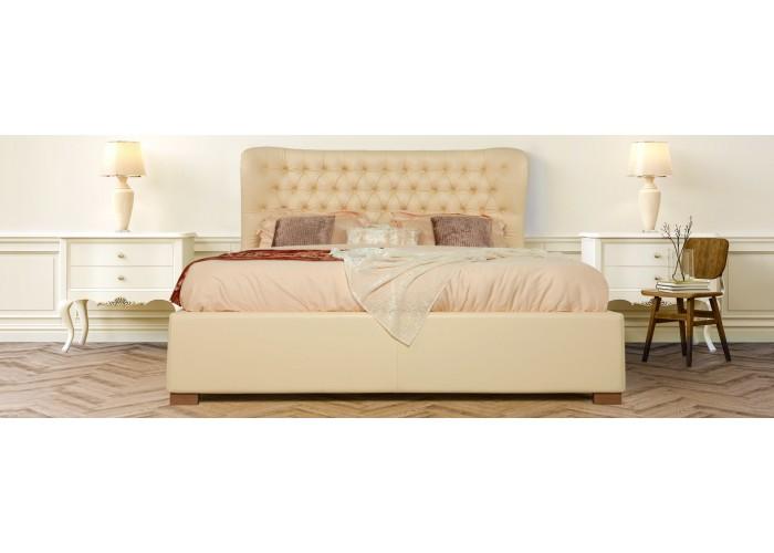 Кровать Анабель (кожа)  6