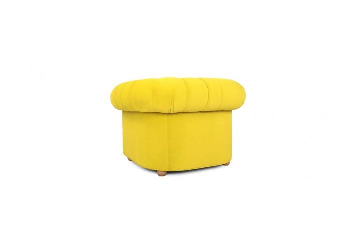 Кресло Честерфилд, желтый  11