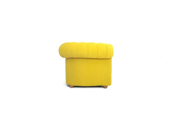 Кресло Честерфилд, желтый  7