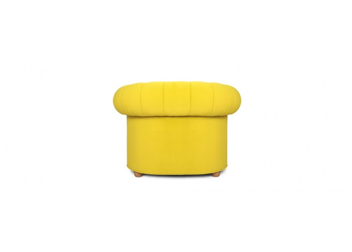 Кресло Честерфилд, желтый  10