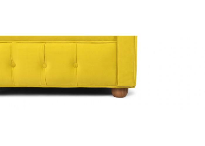 Кресло Честерфилд, желтый  6