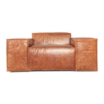 Кресло Кавио, кожа