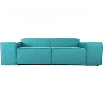 Прямой диван Кавио, бирюзовый