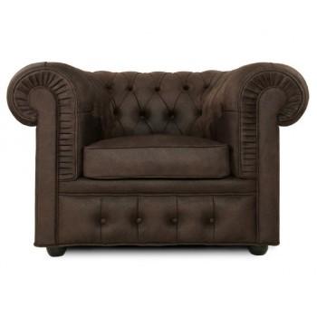Кресло Честерфилд, темный