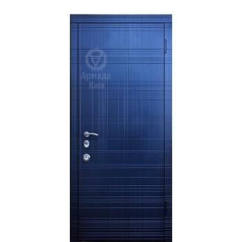 Дверь входная – Армада – Граффити синяя А14.3