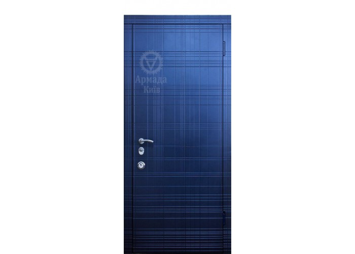 Дверь входная – Армада – Граффити синяя А14.3  1