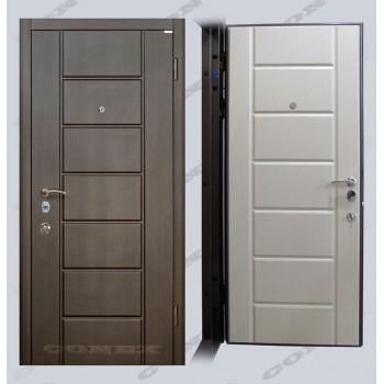 Двери входные – Conex – Модель 38 Венге, внутри Дуб молочный