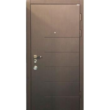 Двери входные – Conex – Модель 58 Венге, внутри СМБ