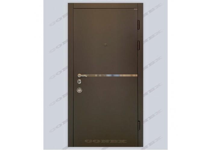 Двери входные – Conex – Модель 110 + молдинг  1