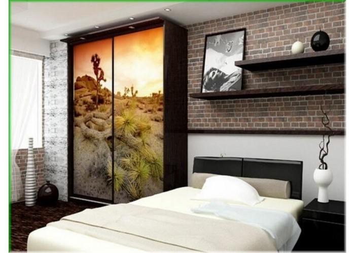Шкаф-купе для спальни под заказ 7  1