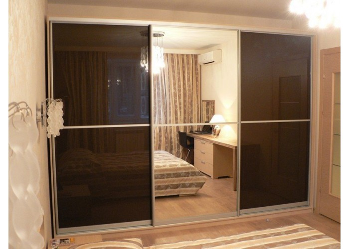 Шкаф-купе для спальни под заказ 9  1
