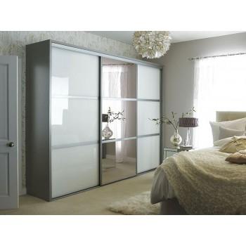 Шкаф-купе для спальни под заказ 12