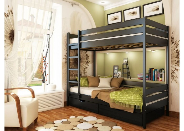 Двухъярусная кровать Estella ДУЭТ  6