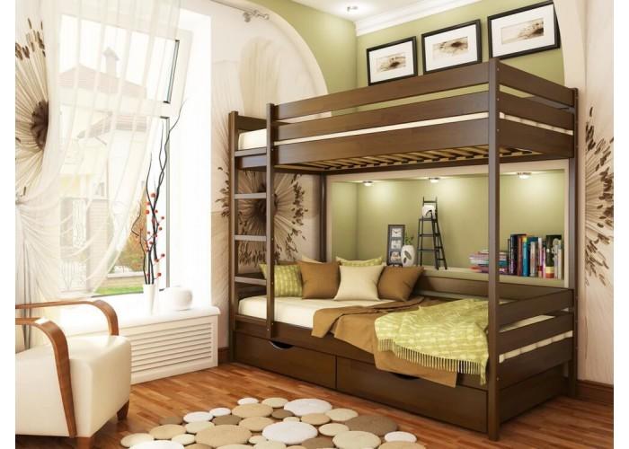Двухъярусная кровать Estella ДУЭТ  1