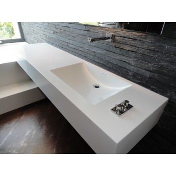 Столешницы в ванну из искусственного камня BAS 1