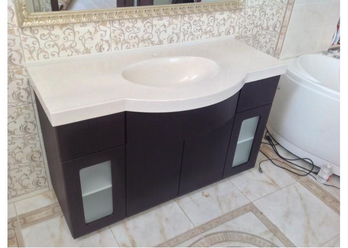 Столешницы в ванну из искусственного камня BAS 3  1