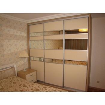 Шкаф-купе для спальни под заказ 1