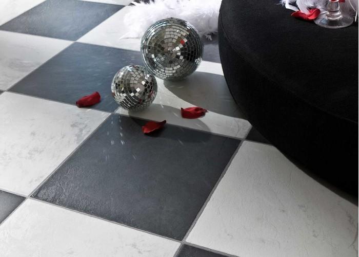 Ламинат Faus Tiles Marble: CHESS BLACK | DRFB | 33 класс |  1