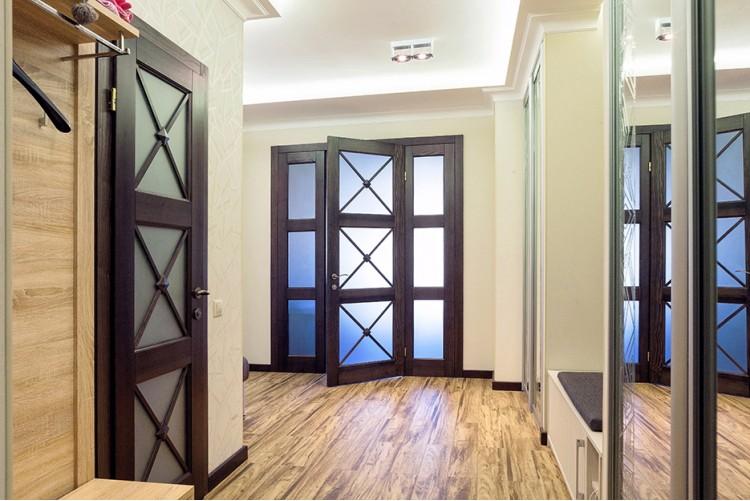 Прихожая — Дизайн-проект 3-комнатной квартиры, 100м.кв — Катерина Кузьмук