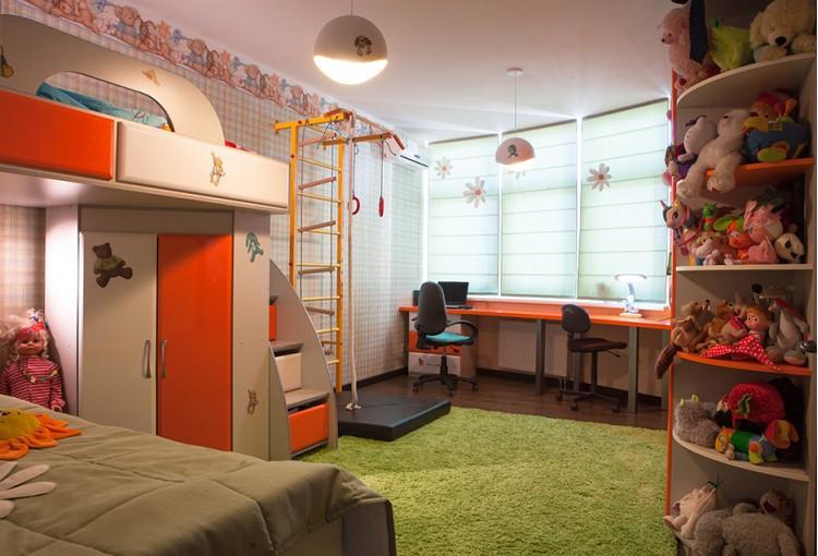 Детская — Дизайн-проект 3-комнатной квартиры, 100м.кв — Катерина Кузьмук