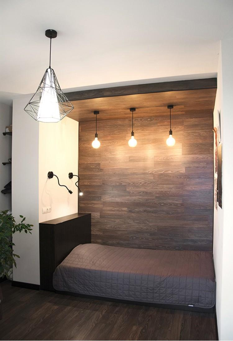 Детская в дизайн-проекте 2х-комнатной квартиры в современном стиле, 71м.кв — дизайнер Катерина Кузьмук