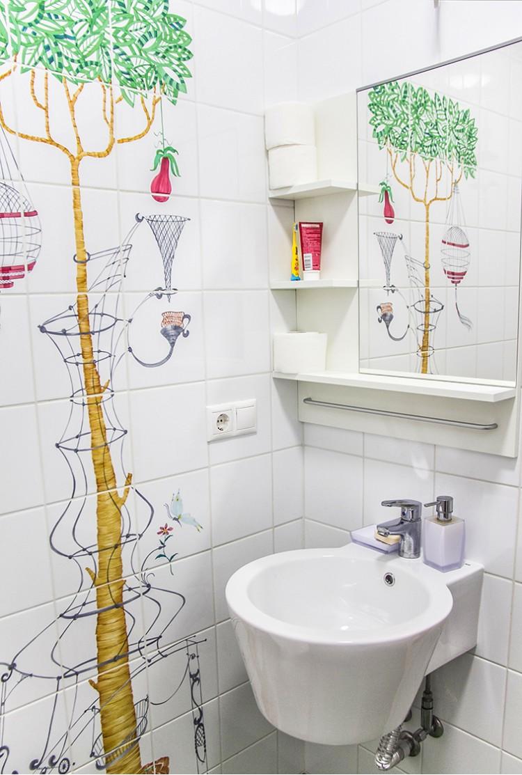Фотография: Дизайн интерьера санузла – Квартира в скандинавском стиле площадью 113 м – 1540